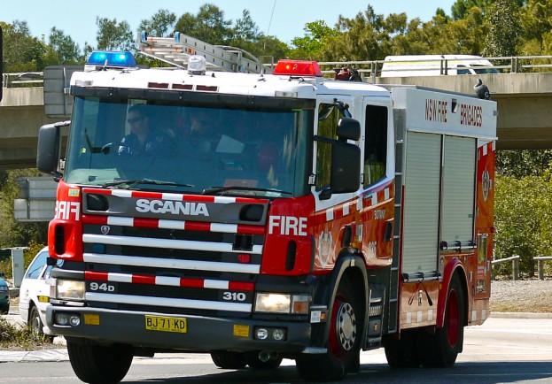 NSWFB Scania pumper Botany 035