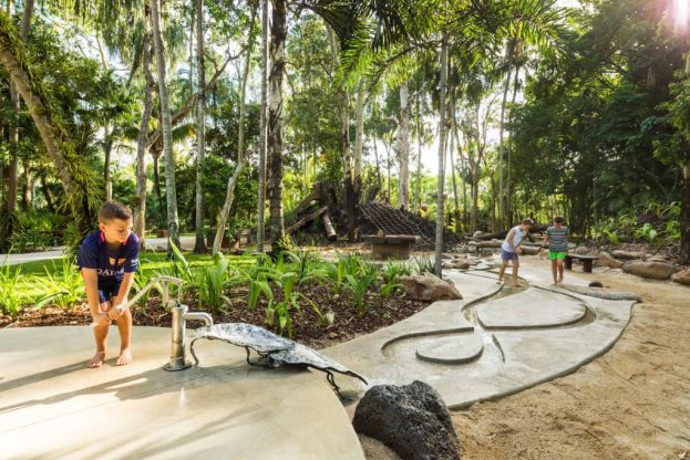 Cairns Regional Councils' Centenary Lakes Nature Play among council initiatives recognised.